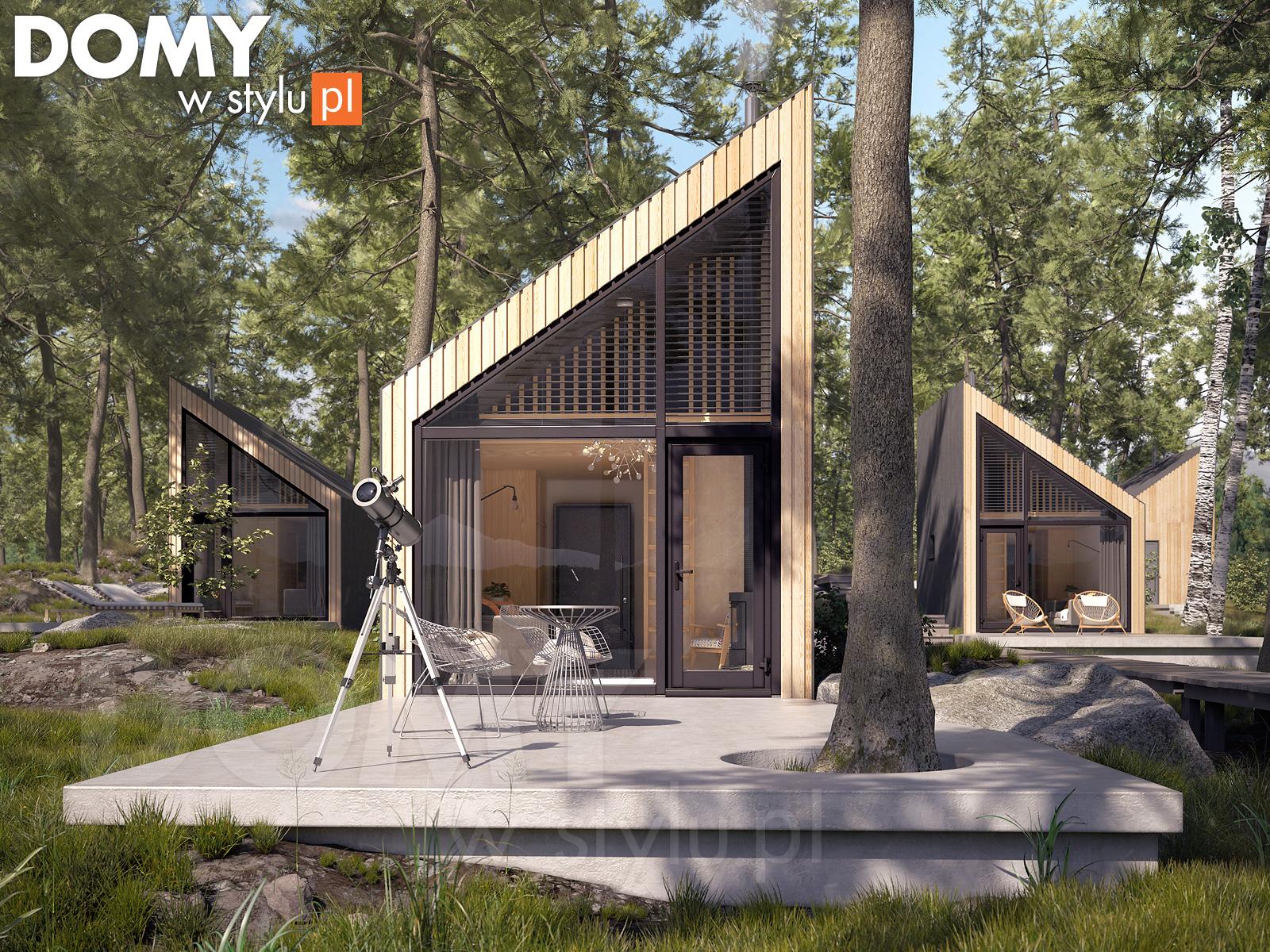 Projekty domów szkieletowych – co charakteryzuje takie domy?